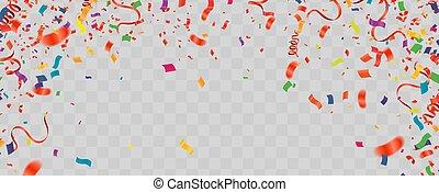 Creative realistic paper cut vector illustration of happy ...
