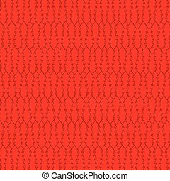 creative red abstract tree pattern