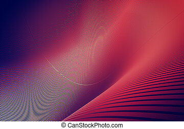 Creative red background/wallpaper/backdrop/texture. 3D Rendering