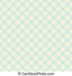 creative retro flora design pattern