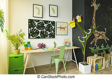Creative room for children