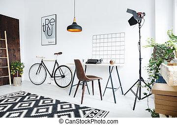Creative room interior