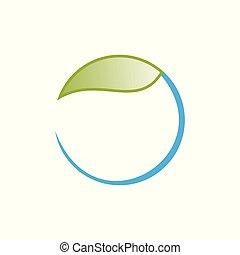round leaf logo