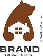 bear house logo