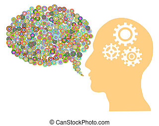 creative speech bubble