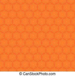 creative star shape pattern - star shape pattern on orange...