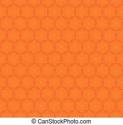 creative star shape pattern - star shape pattern on orange...