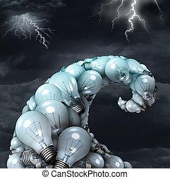 Creative Storm Concept