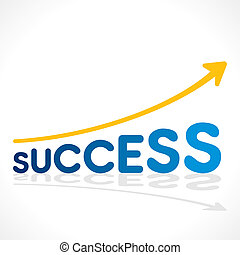 creative success word growth graph