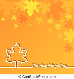 Thanksgiving Day Background - Creative Thanksgiving Day...