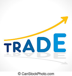 creative trade word growth graph