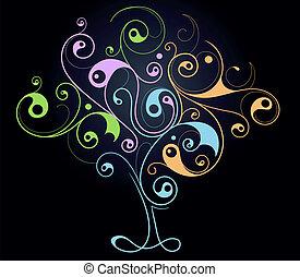 Creative tree shape
