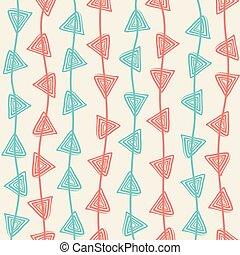 creative triangle design pattern
