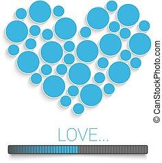 Creative Valentines bl - Creative Valentines day concept...