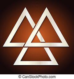 Trinity Symbol - Creative vector abstract for Trinity Symbol...