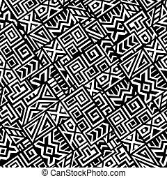 Creative Vector Seamless Pattern