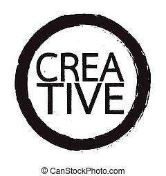Creative word Illustration design