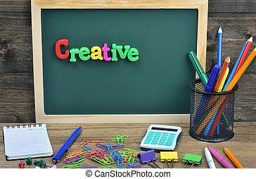 Creative word