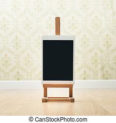 creatividad, tableta