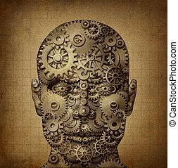 creativiteit, macht, menselijk
