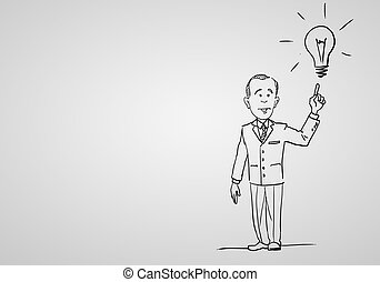 Creativity and success in business - Drawing about...