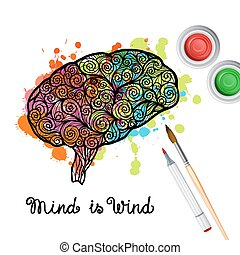 Creativity Brain Concept