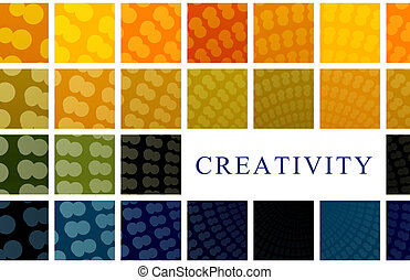 Creativity Business as a Art Concept Background