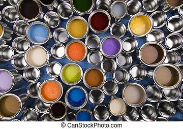 Creativity concept set of color
