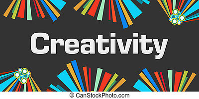 Creativity Dark Colorful Elements