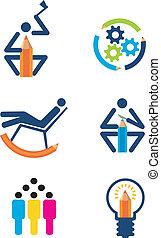 Creativity design icons