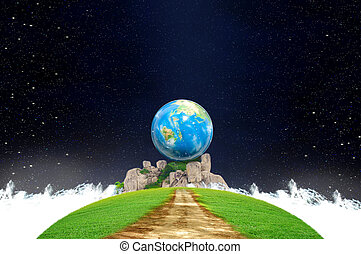 Creativity earth and imagination