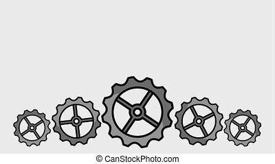 creativity learning design animation - creativity gears...