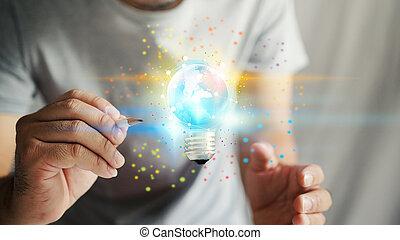 Creativity. New idea