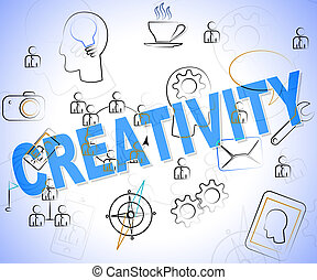 Creativity Word Concept