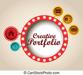 creativo, cartera