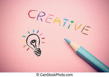 creativo, concepto