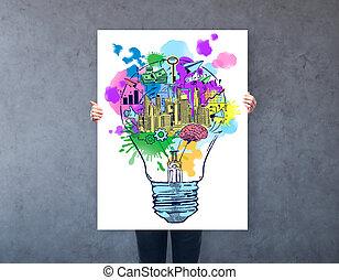 creativo, empresa / negocio, ideas