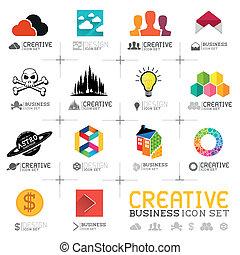 creativo, icone affari
