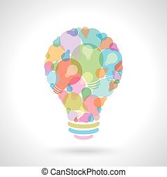 creativo, idea, concepto