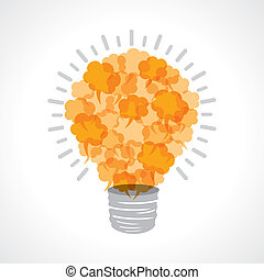 creativo, light-bulb