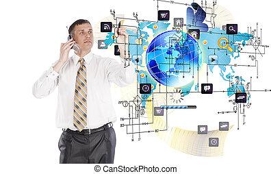 creativo, tecnologías, internet