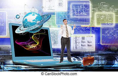 creazione, tecnologia,  internet