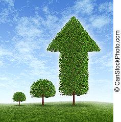 crecer, inversión