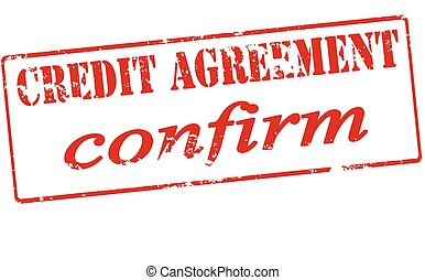 Credit agreement confirm