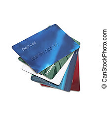 credit and debit cards - plastic cards you may find in a...