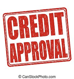 Credit approval stamp