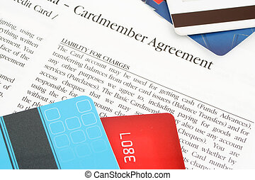 credit card agreement