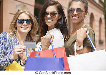 Credit card always help in shopping