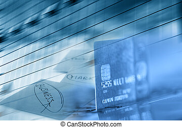 Credit card business background