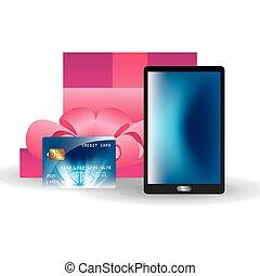 credit card design, vector illustration eps10 graphic